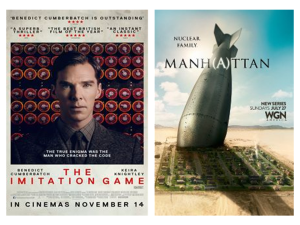 Manhattan and Imitation Game posters